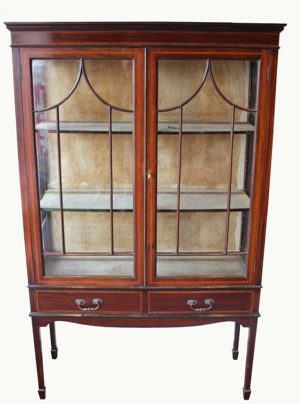 An Edwardian Mahogany And Inlaid Display Cabinet Kitchen Cabinets And Countertops Mahogany Cabinets Furniture Makeover