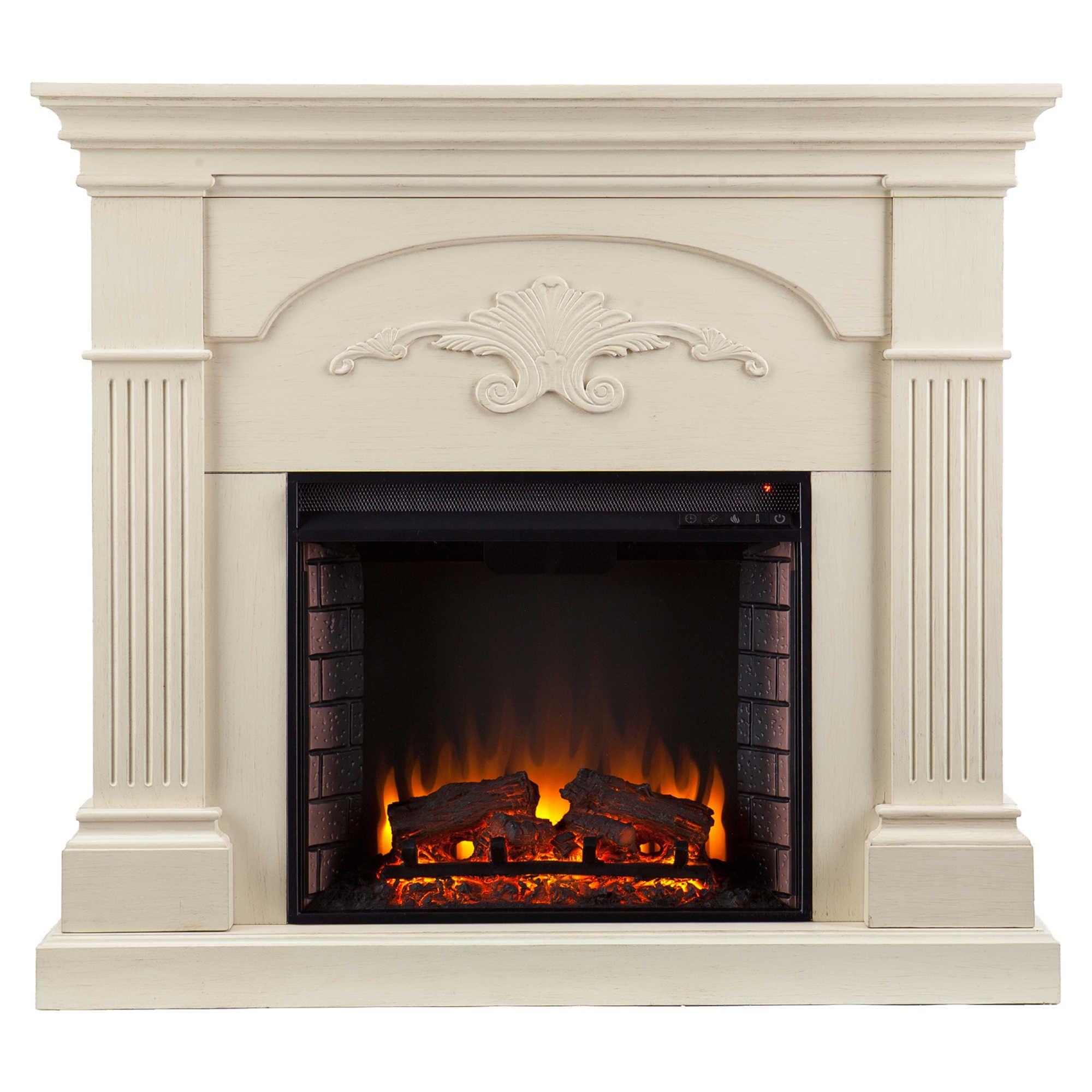 southern enterprises sicilian harvest electric fireplace in ivory rh pinterest com