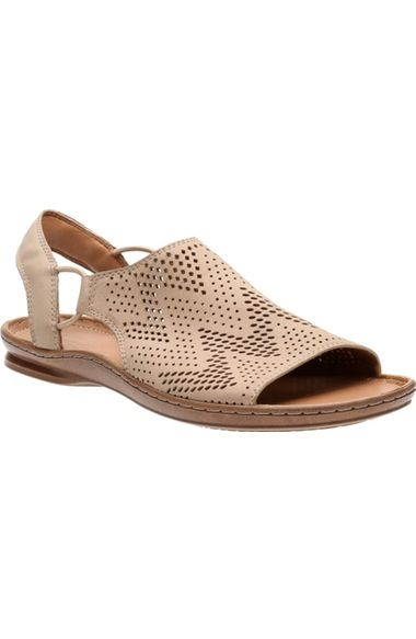 Clarks Sarla Cadence Sandals Womens | Shoes, Slingback