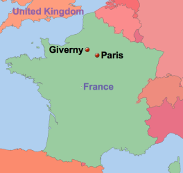 Giverny in northern france | France NW Brittany, Normandy, Picardy