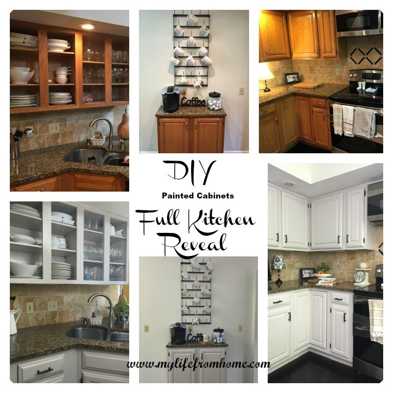 DIY: Painted Kitchen Cabinets