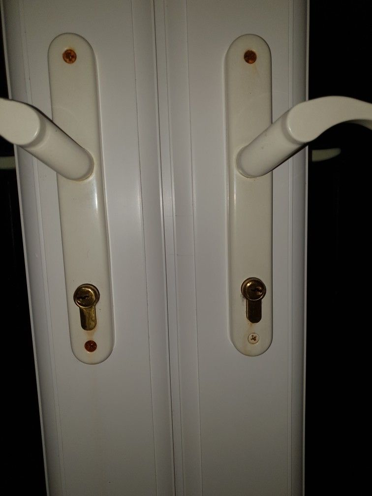 French Door Locks Picked Open None Destructively And Replaced