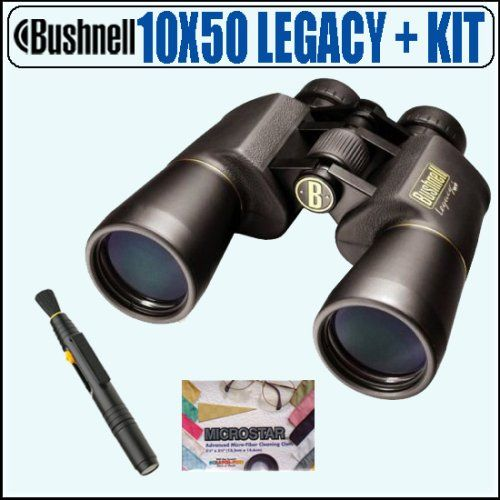 Bushnell 12 0150 10x50 Legacy Wp Wide Angle Binoculars Accessory Package Bushnell Abus10x50lynk1 Review Binoculars Bushnell Binoculars Bushnell