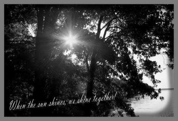 When The Sun Shines We Shine Together Celestial Photography Sunshine