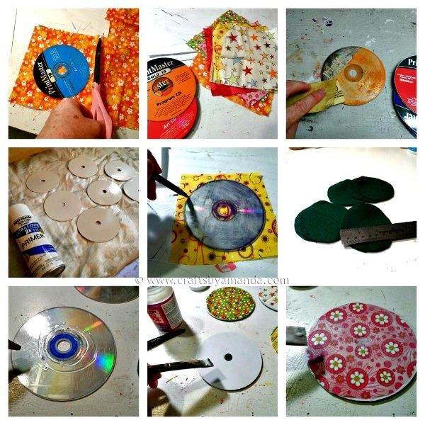 Recycled cd coasters do it yourself diy ideas decor extra recycled cd coasters do it yourself diy ideas decor extra pinterest coasters diy ideas and recyle solutioingenieria Choice Image