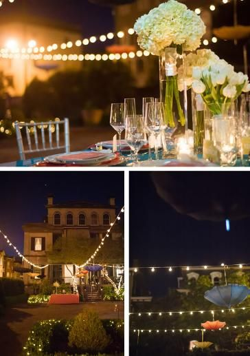 """Styled shoot themed after """"Singin' in the Rain"""" (photography by: Azelle Photography) #weddings"""