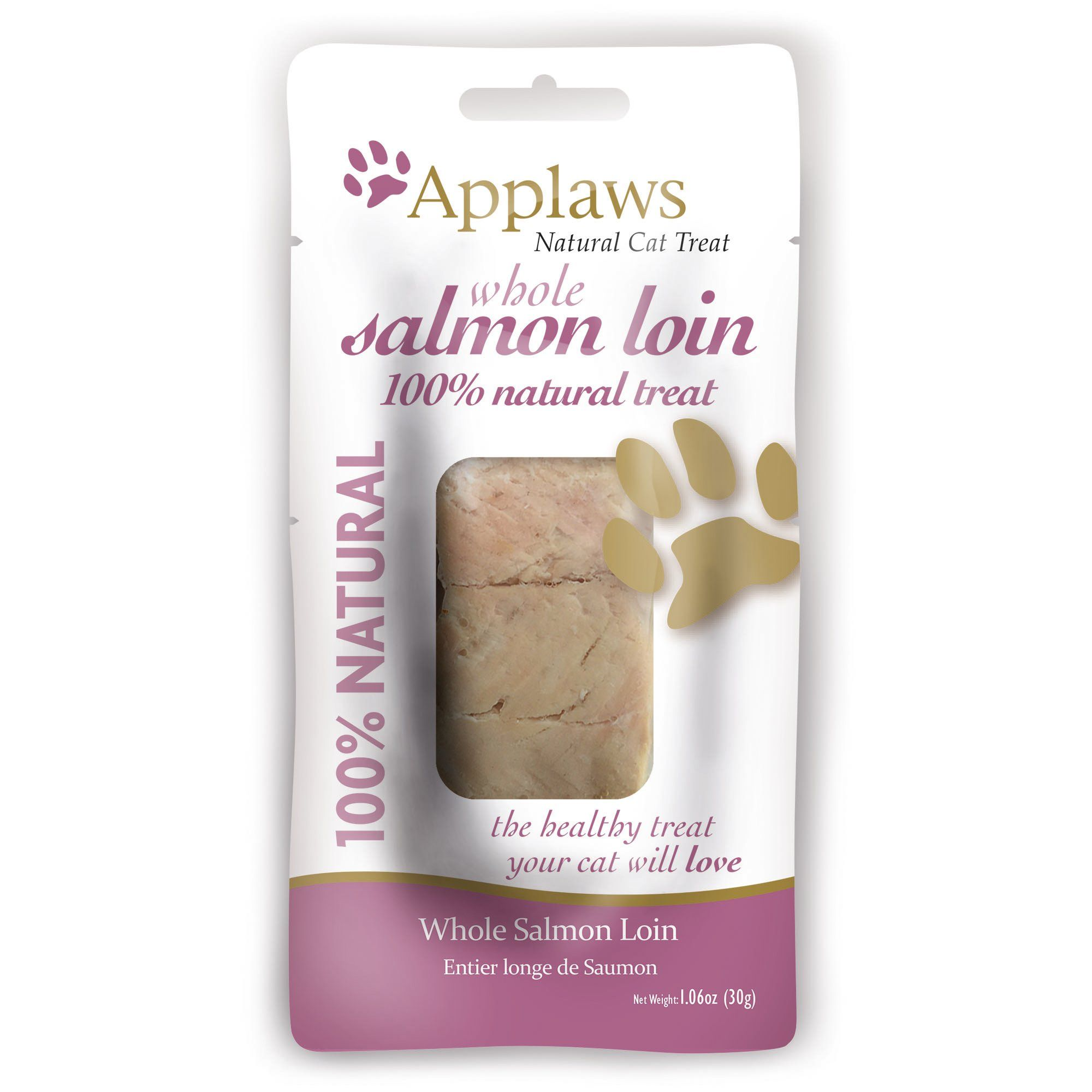 Applaws Whole Salmon Loin Cat Treat, 1.06 oz Cat treats