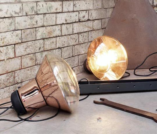 Smaller Version Of Blow Light By Tom Dixon Copper Lighting Lamp Creative Lighting Fixtures