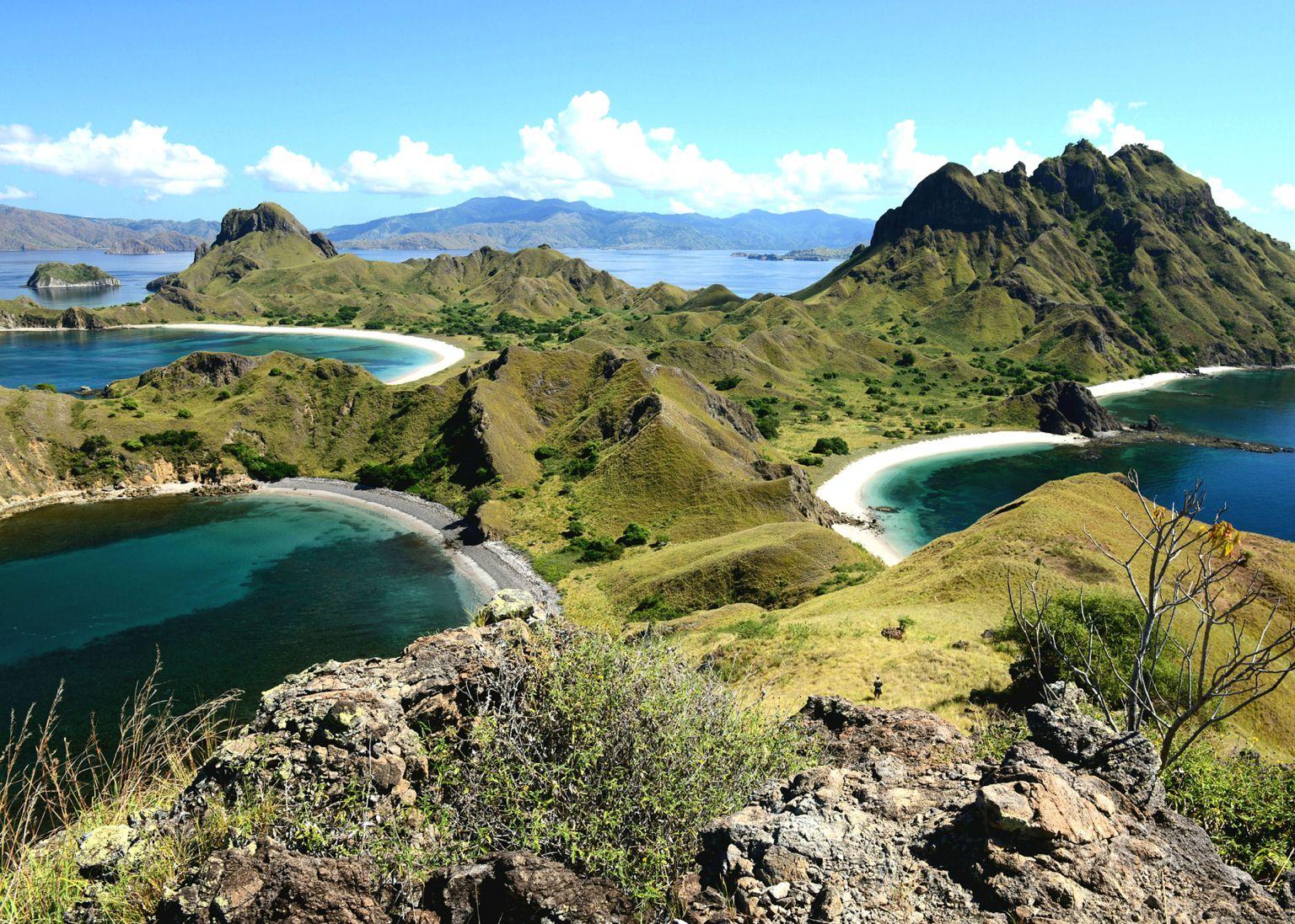 Padar-Island pulau padar, labuan bajo flores NTT Komodo ...