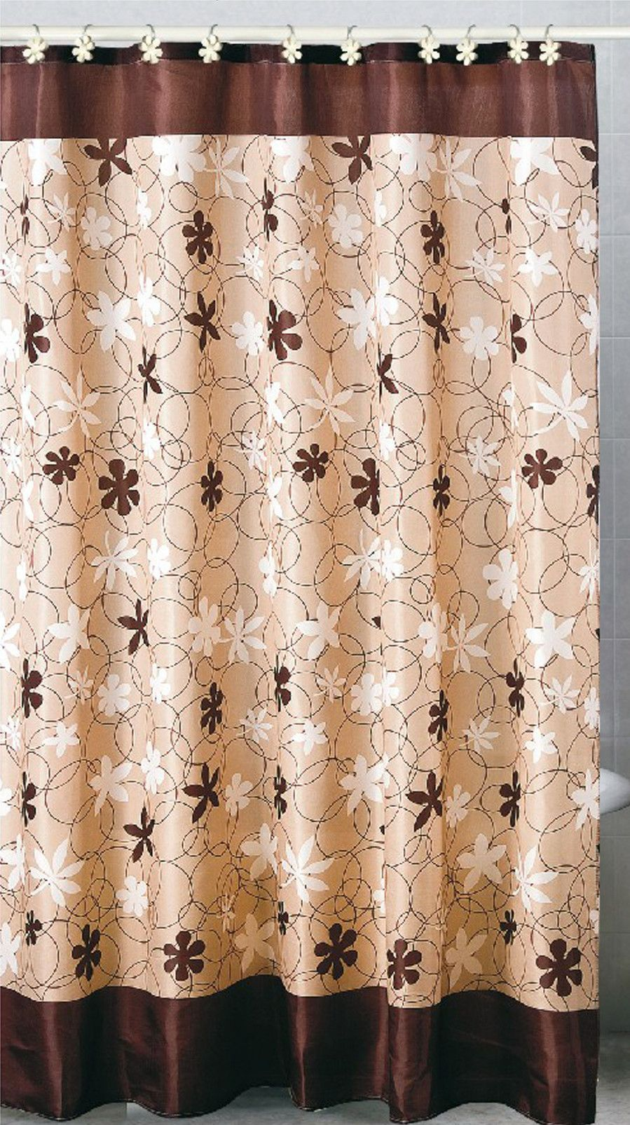 Cottage Shower Curtain Karen Single Shower Curtain Products Fabric Shower Curtains