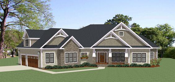 Plan 46308la Spacious Craftsman House Plan With Optional