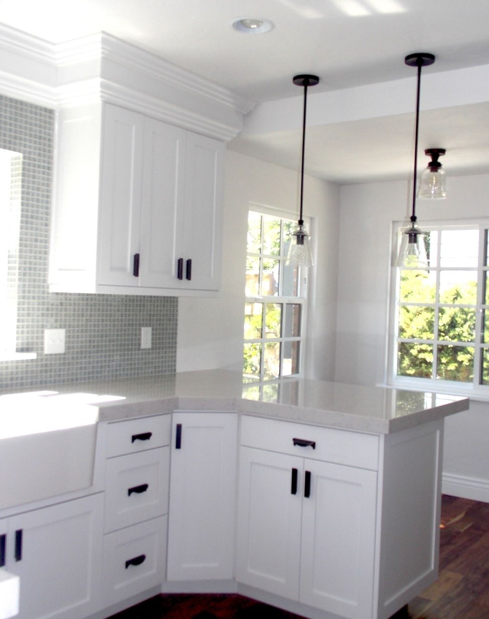 White Kitchen Cabinets Black Handles Kitchen Cabinet Handles