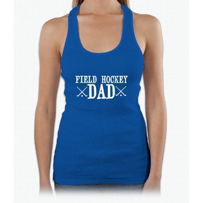 Field Hockey Dad Womens Tank Top