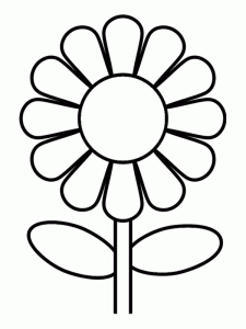 Cute Flower Coloring Pages Sunflower Coloring Pages Flower Coloring Pages Printable Flower Coloring Pages