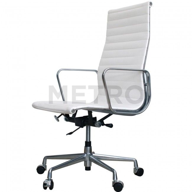 ea119 eames ribbed office chair 45 degree