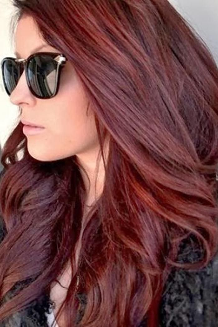Brownish Red Hair Color Image Ideas