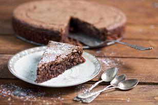 Schoko Mandel Kuchen Fur Eine Kleine Springform Ein Drittel Des