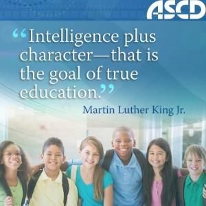 """""""Intelligence plus character- that is the goal of true education."""" Martin Luther King Jr."""