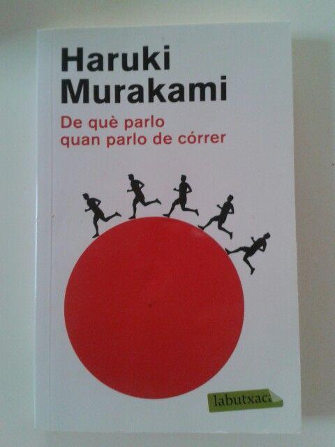 De Què Parlo Quan Parlo De Còrrer Haruki Murakami Book Cover Books