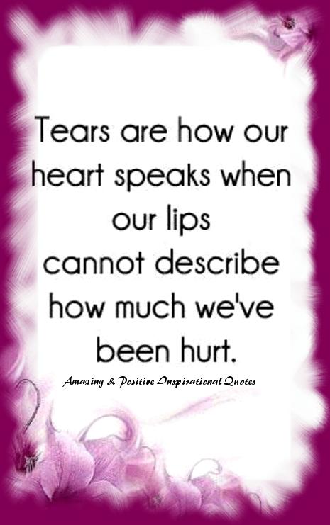 Tears!