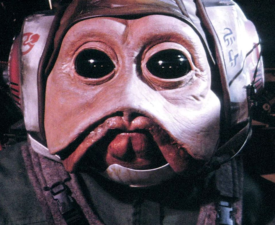 Sullustan B Wing Pilot From Deleted Scene In Rotj Star Wars