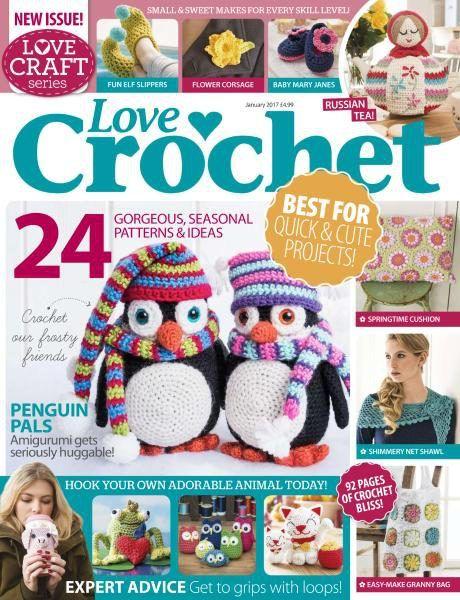 Il Muro Vk Crochet Magazine And Book Issues Crochet Love
