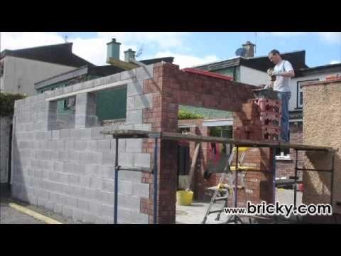 Concrete Block How To Build A Garage/workshop