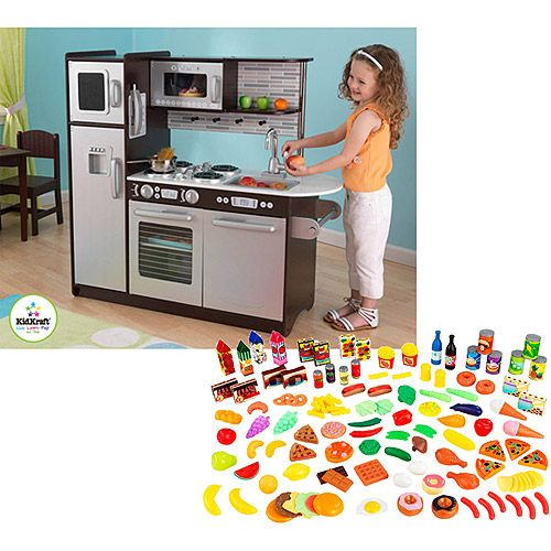 Take A Look At This Espresso Personalized Uptown Play Kitchen By KidKraft  On Today!