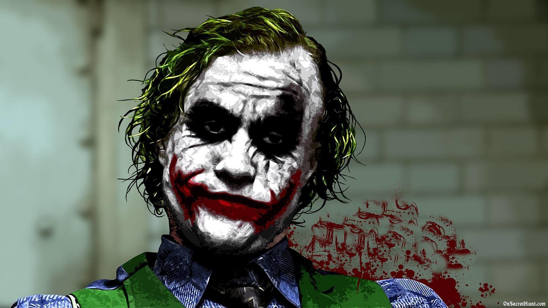 1920x1080 Batman Joker Hd Wallpaper On Secret Hunt 1920x1080px Wallpaper Joker Hd Wallpaper Joker Painting Joker Wallpaper