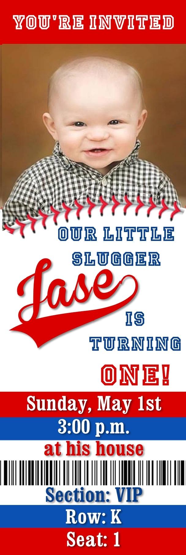 Ticket Stub Baseball \