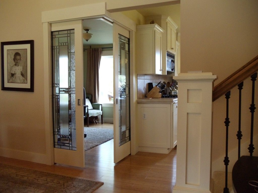 Corner Pocket Doors Opened Corner Door Home Home Remodeling Diy