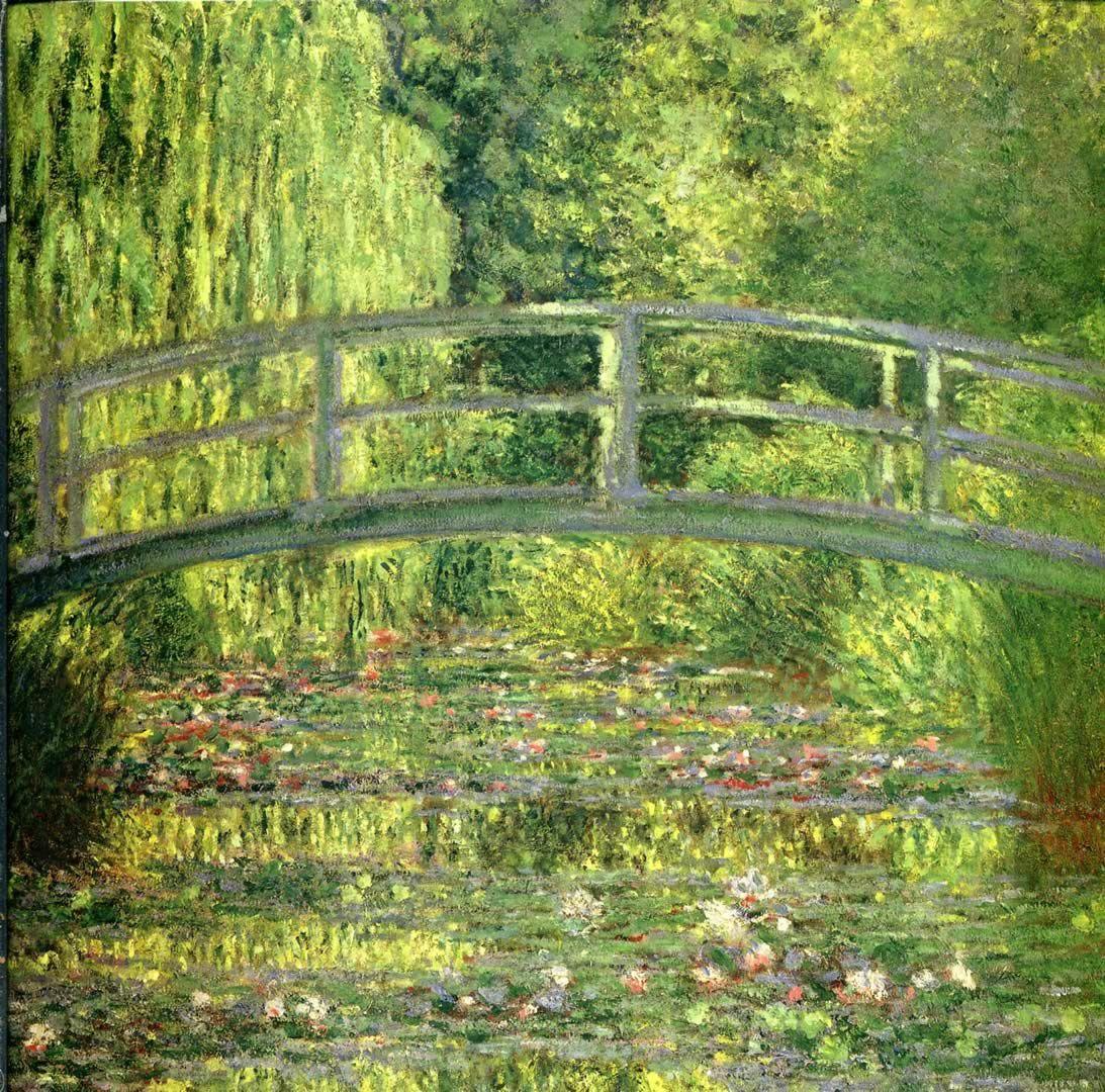 paintings | ... japanese bridge claude monet paintings wallpaper ...