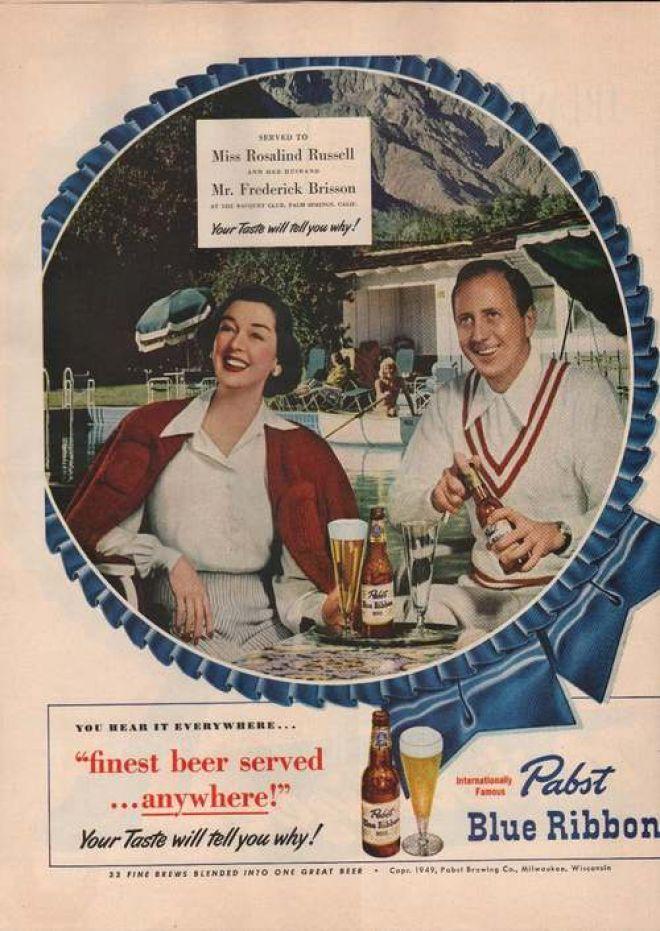 Pabst bier | Drink retro advert. @deFharo