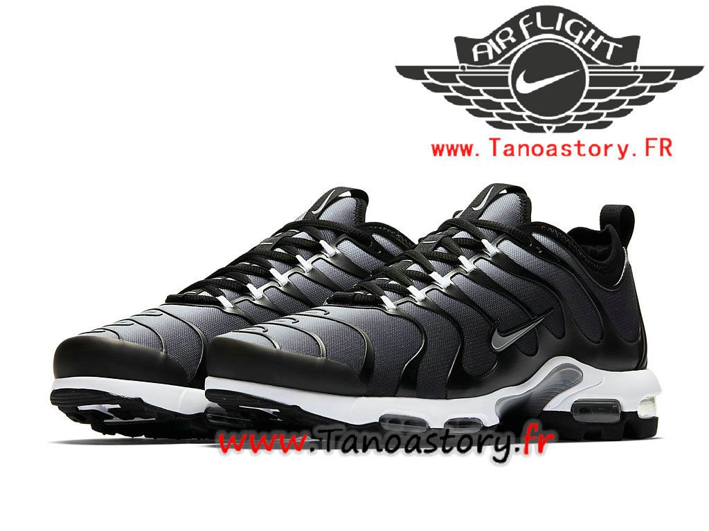 purchase cheap 7c976 9f61c Chaussures Homme Nike Air Max Plus TN Ultra 2018 Officiel Nike Prix Pas Cher  Noir Blanc