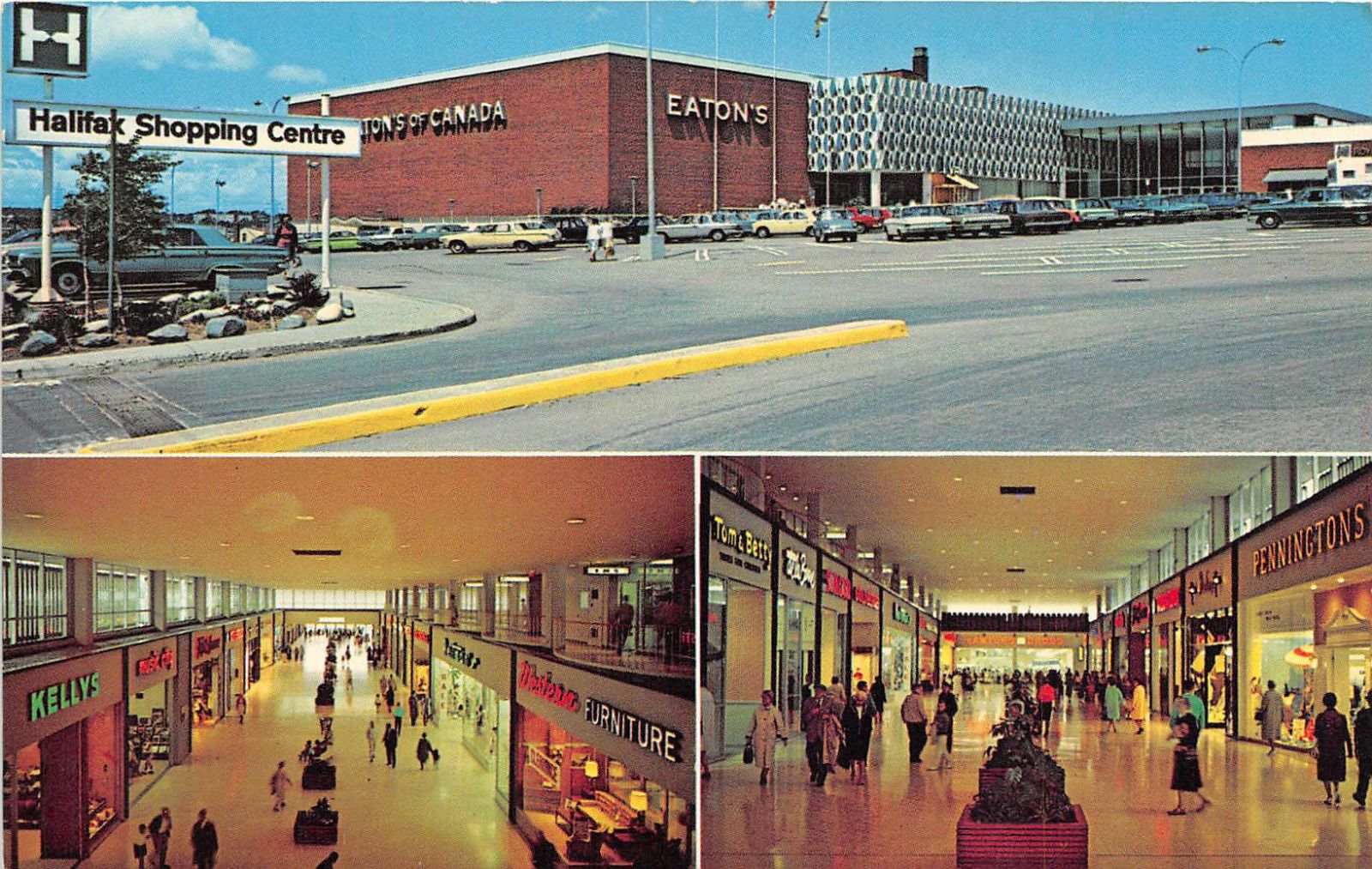 Nova Scotia Postcard Canada Halifax Shopping Centre Ebay Nova Scotia Halifax Shopping Center
