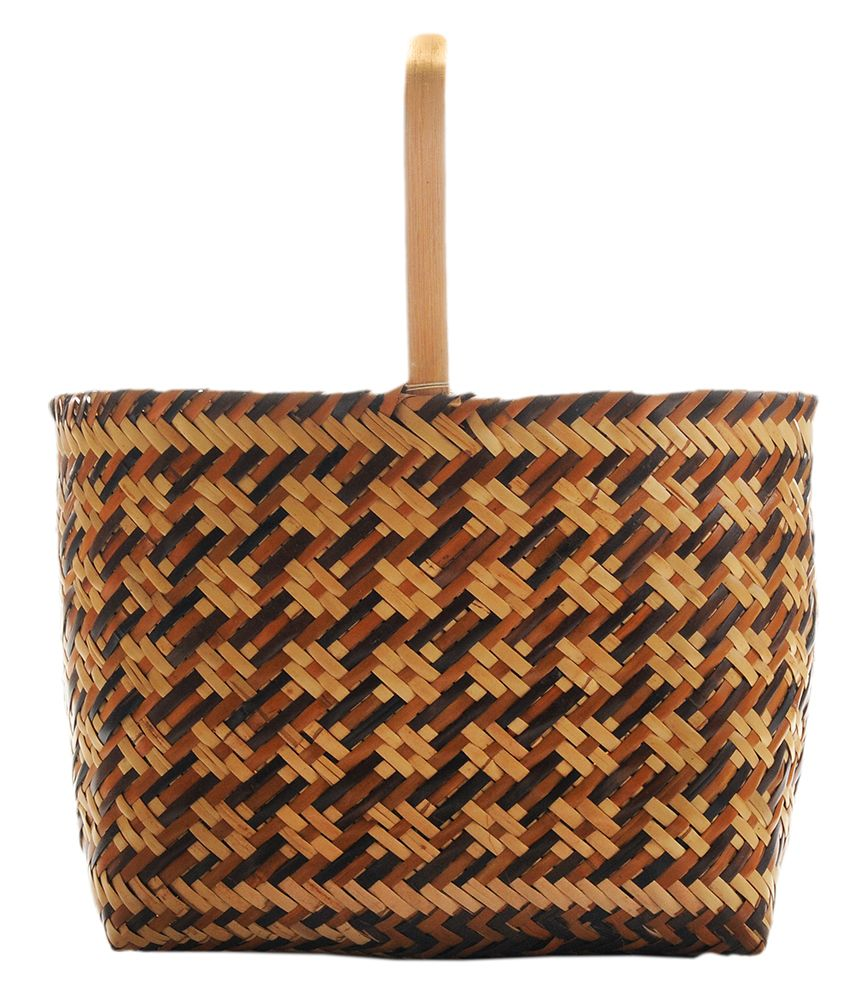 Basket Weaving Cane : Eva wolfe cherokee double weave river cane basket