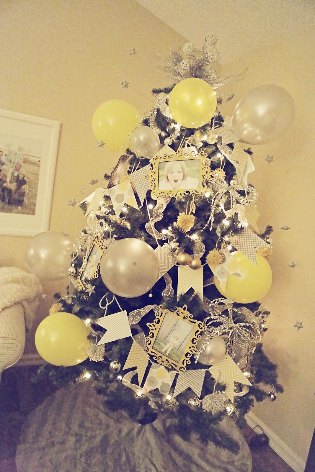 A birthday tree for those December/close to Christmas