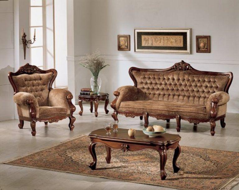 صالونات تركية حديثة كلاسيك ومودرن مدهب بسيطة وفخمة قصر الديكور Wooden Sofa Designs Sofa Design Wood Sofa Design