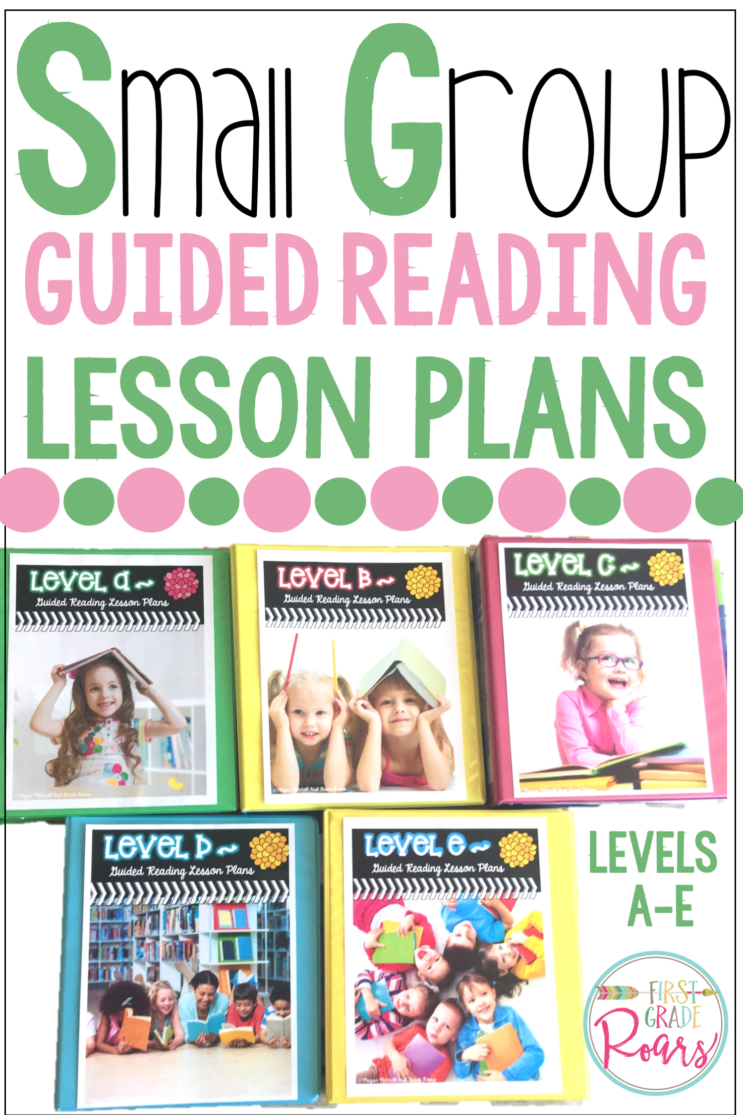 Guided Reading Bundle Levels A E Lesson Plans