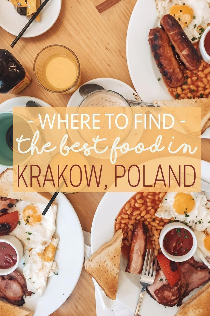 Where to Find the Best Food in Krakow, Poland | The Blonde Abroad