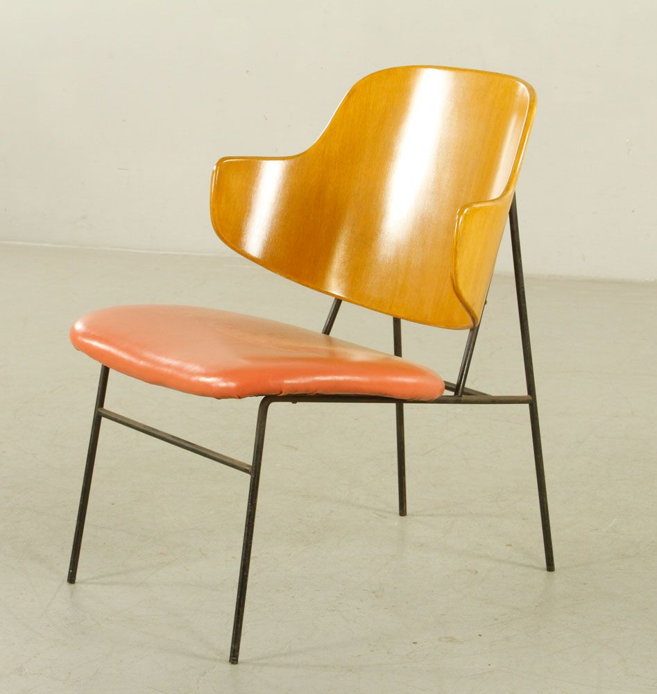 6094   Four Kofod Larsen Penguin Chairs July 10th Military And Estate  Auction | Official