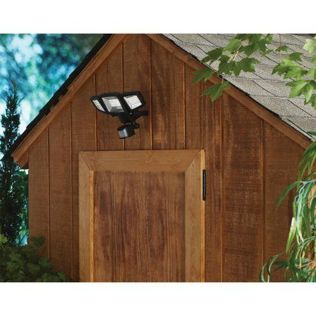 Mainstays 1500lm solar security light outdoor lighting mainstays 1500lm solar security light aloadofball Images