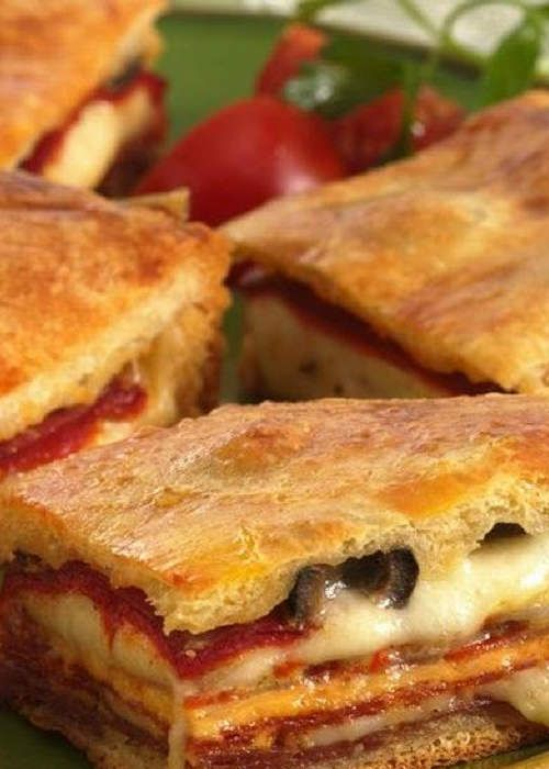 Great Groceries on the Web! – Antipasto Squares #antipastosquares