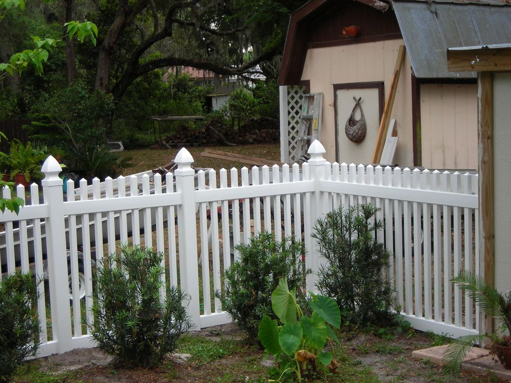 Traditional Privacy Pvc Fence Panel Vinyl Picket Fence