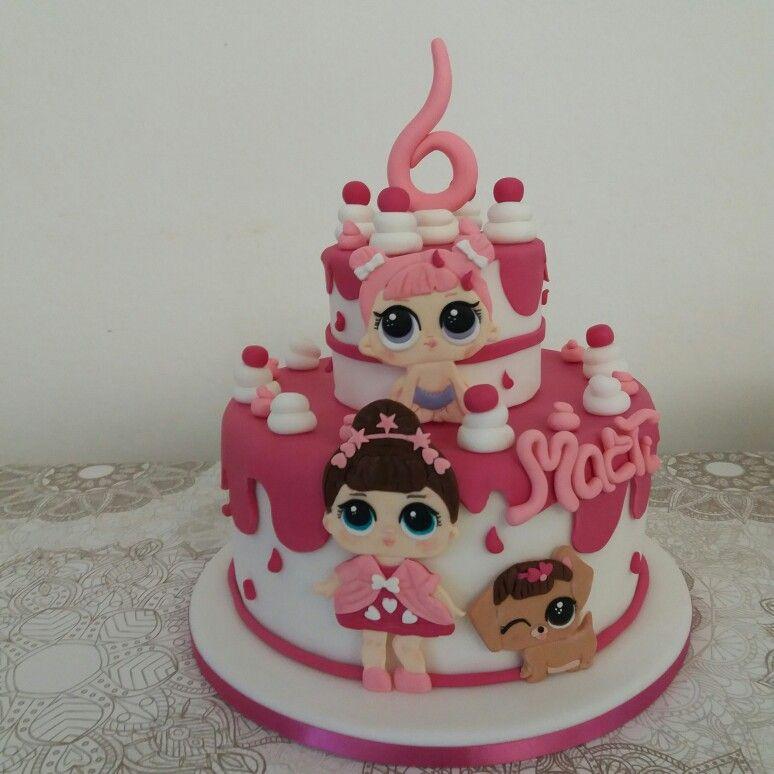 La torta Lol Surprise Torta A Sorpresa, Torta Con Disegni Di Pony, Bambole  Lol