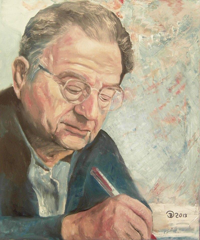 Erich Fromm Portrait Painting Painting Art