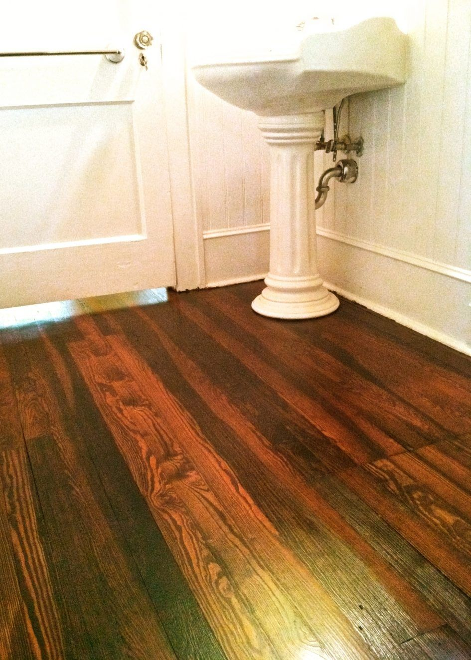Wood Floor Wax Stripping Products Bathroom Pine Wood