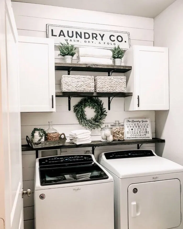 137 Laundry Room Decorating Ideas To Help Organize Space Page 1
