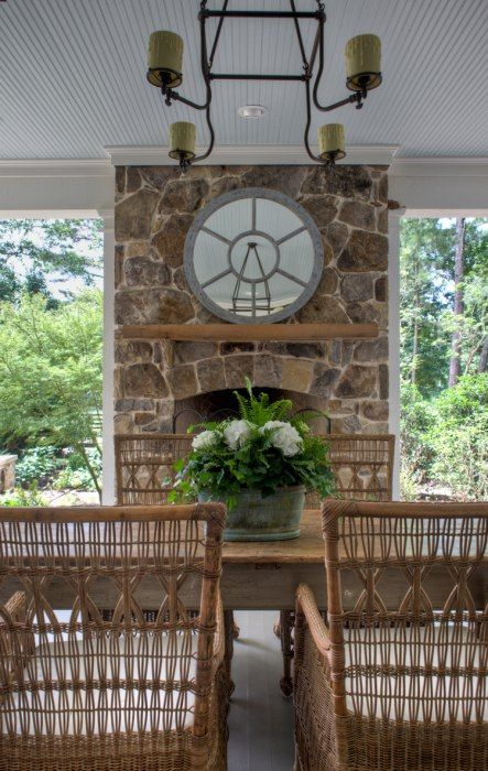 Historical Concepts Hilltop Farm House Rugged Fieldstone