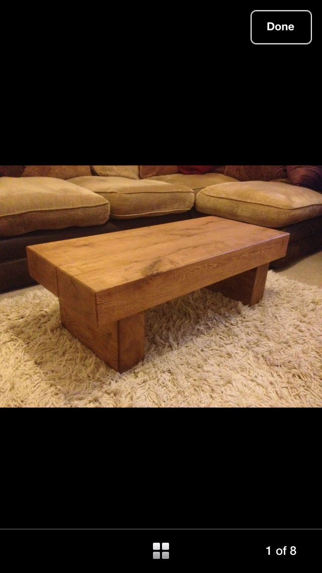 Oak table- rustic
